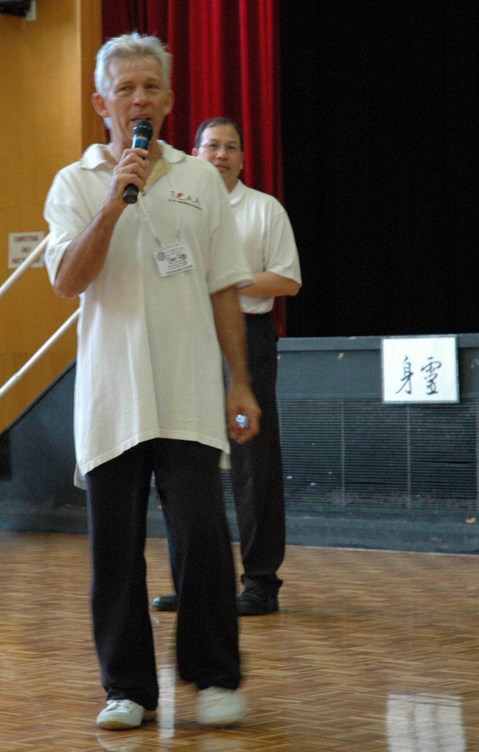 TCAA Gold Coast TCAA Comp 2006 Dennis Watts Comp Organiser Charles Sui Po Head Judge